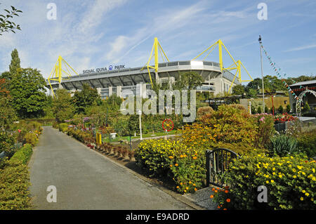 Signal Iduna Park, Dortmund, Germania Foto Stock