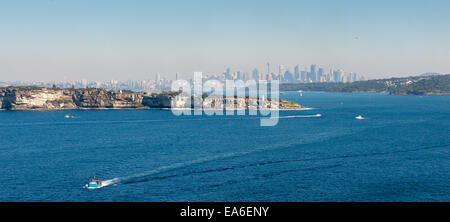 Australia, Nuovo Galles del Sud, Sydney, vista del paesaggio urbano Foto Stock