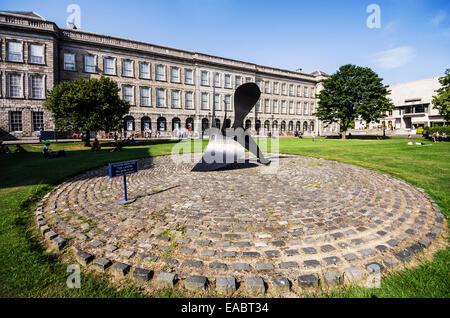 L'Irlanda County Dublin Dublin Southside Trinity College Fellow Square Foto Stock