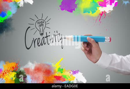 Creatività Foto Stock