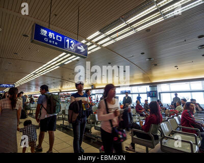 Guilin Liangjiang International airport lounge in Guilin, Cina Foto Stock