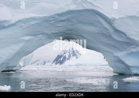 Iceberg intorno all isola Yalour, Antartide. Foto Stock