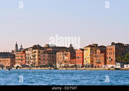 Paesaggio urbano della città Vanice, Italia da crociera passeggero