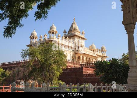 Jaswant Thada Memorial a Jodhpur, stato del Rajasthan, India Foto Stock