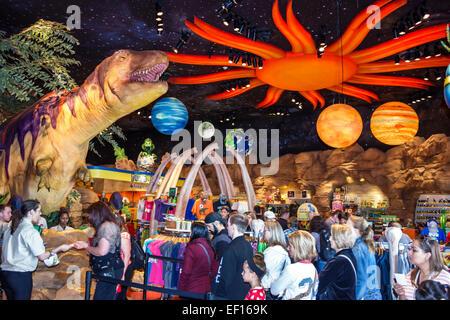 Florida, FL, Sud, Orlando, Lake Buena Vista, Downtown Disney Springs, shopping shopper acquirenti negozi mercati mercato mercato acquisti vendita