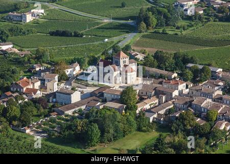 Francia, Gironde, montagne, la giurisdizione di Saint Emilion, classificato come patrimonio mondiale dall UNESCO, Foto Stock