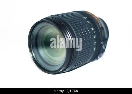 Kit lente con sfondo isolato Foto Stock