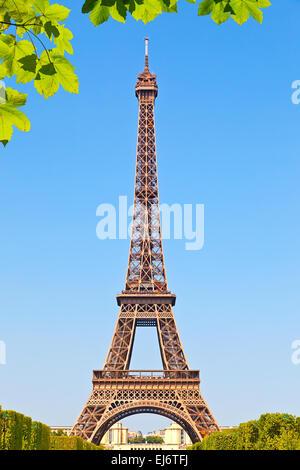 Torre Eiffel Foto Stock