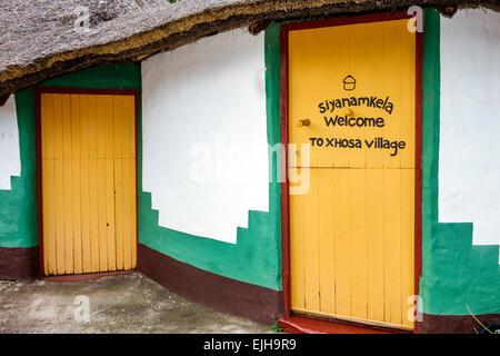 Sudafrica Africano Johannesburg Lesedi African Lodge & Cultural Village Xhosa tribù villaggio SAfri150305124