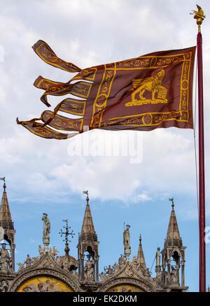 Basilica di San Marco, Venezia, Italia Foto Stock