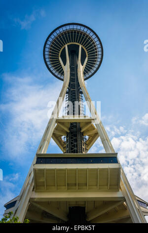 Lo Space Needle, a Seattle, Washington. Foto Stock