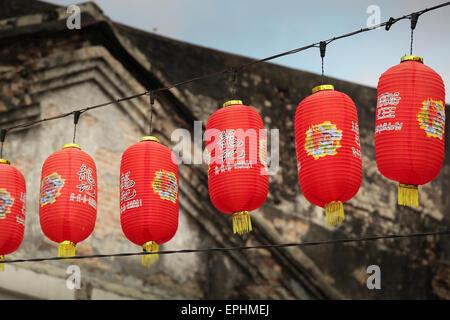 Decorazioni Con Lanterne Cinesi : Le lanterne cinesi chinatown kuala lumpur malesia foto