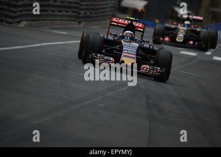 Monte Carlo, Monaco. 23 Maggio, 2015. Qualifica al Principato di Monaco di Formula 1 Grand Prix, Monte Carlo. Credito: Kevin Bennett/Alamy Live News