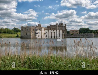 Il Castello di Leeds nel Kent, England Regno Unito Foto Stock