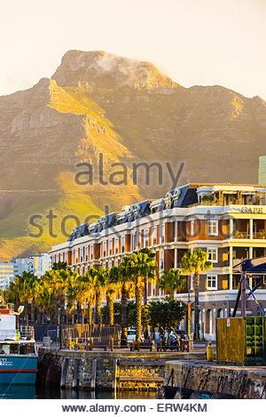Cape Grace Hotel Victoria & Alfred Waterfront, Città del Capo, Sud Africa. Foto Stock