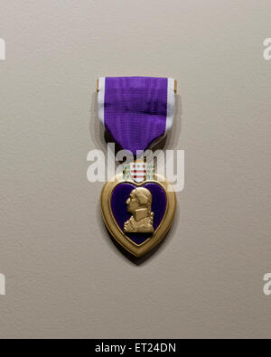 Purple Heart medal - USA Foto Stock