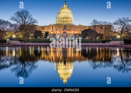 Washington, DC in Campidoglio. Foto Stock