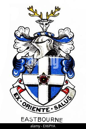 Emblema di Eastbourne College, Eastbourne, East Sussex è un cittadino britannico di co-educativo scuola indipendente Foto Stock