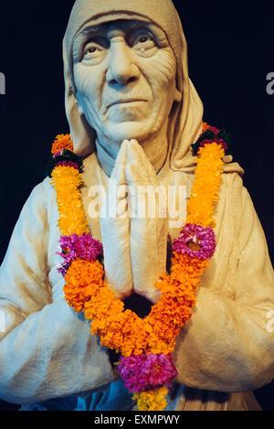 Madre Teresa angelo di Dio teresa di calcutta kolkata west bengal india Foto Stock