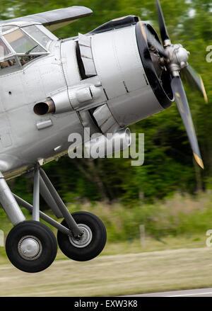 Approccio biplanare Foto Stock