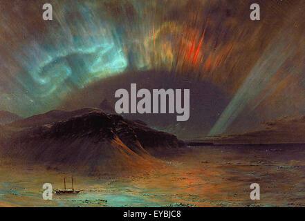 Frederic Edwin Chiesa l'Aurora Boreale Foto Stock