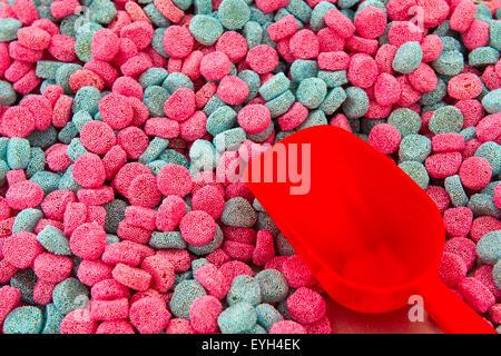Pulsante di gelatina dolci Foto Stock