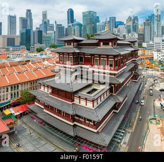 Il Dente del Buddha reliquia tempio in Singapore