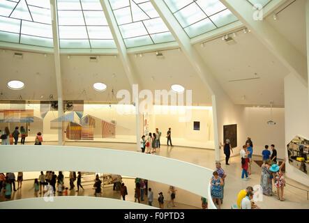 Stati Uniti d'America, nello Stato di New York, New York City, Manhattan, interno del Solomon R Guggenheim Museum Foto Stock