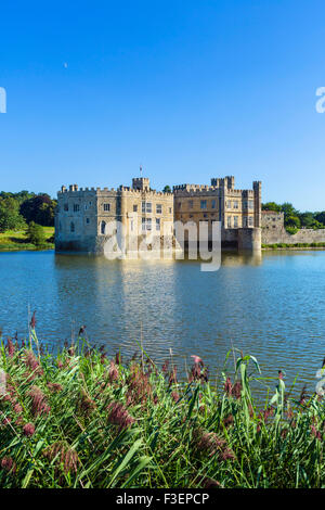 Il Castello di Leeds, vicino a Maidstone Kent, England, Regno Unito Foto Stock