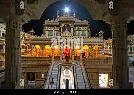 Patrimonio tempio di Swaminarayan quasi 100 anni costruito da Shashtriji maharaj ; Gujarat ; India Foto Stock