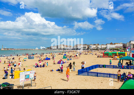 La spiaggia di Margate, Kent, England, Regno Unito Foto Stock