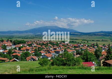 Vista Panoramica Del Villaggio Belchin Provincia Di Sofia Bulgaria