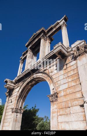 Grecia centrale, Atene, l'Arco di Adriano Foto Stock