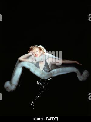 Marilyn Monroe / il principe e la Showgirl 1957 diretto da Laurence Olivier Foto Stock