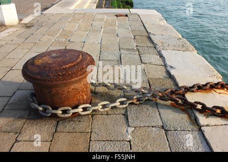 Italia Venito Venezia Riva dei Sette Martiri Zoe Baker Foto Stock