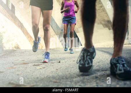 Per chi ama fare jogging in esecuzione sul ponte