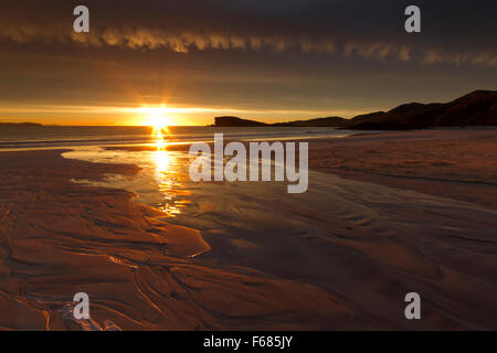 Oldshoremore beach, Sutherland Foto Stock