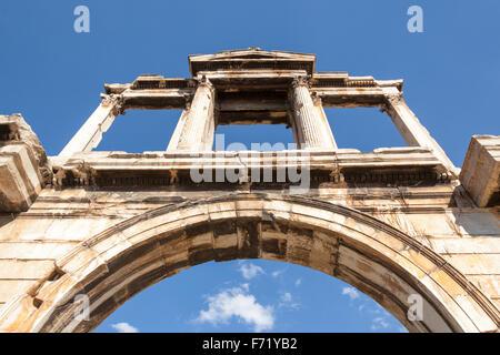 L'Arco di Adriano, Atene, Grecia Foto Stock