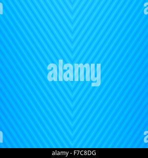 Abstract blue linee rette di sfondo modello geometrico Foto Stock