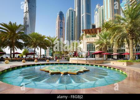 Dubai Marina - Emirati arabi uniti Foto Stock