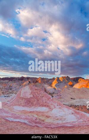 La Valle del Fuoco State Park, vicino a Las Vegas, Nevada. Foto Stock