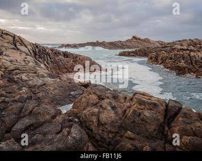 Canal rocce, Australia occidentale Foto Stock