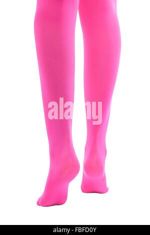 Femmina Shapely gambe. Foto Stock