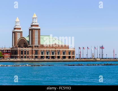 Il Navy Pier Auditorium Foto Stock