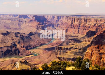 Grand Canyon panorama Foto Stock