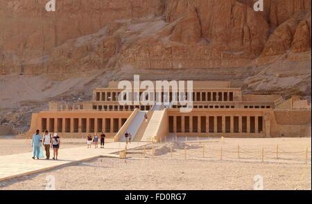 Egitto - La Valle delle regine, il tempio di Hatshepsut, Unesco Foto Stock