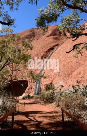Ayers Rock (Kata Tjuta National Park), il Territorio del Nord, l'Australia Foto Stock