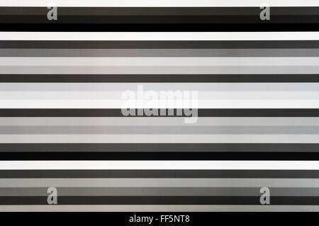 In bianco e nero schermo tv linee rumore statico, astrazione sfondo sfondo Foto Stock