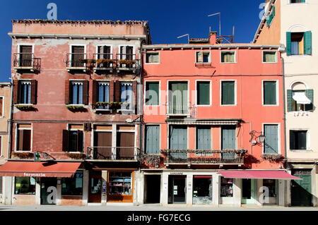 Geografia / viaggi, Italia, Veneto, Venezia, Castello trimestre, Via Giuseppe Garibaldi, Additional-Rights-Clearance Foto Stock