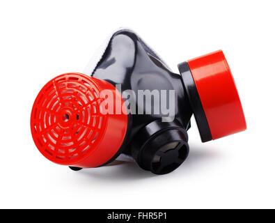 Gas protettivo maschera isolata su sfondo bianco